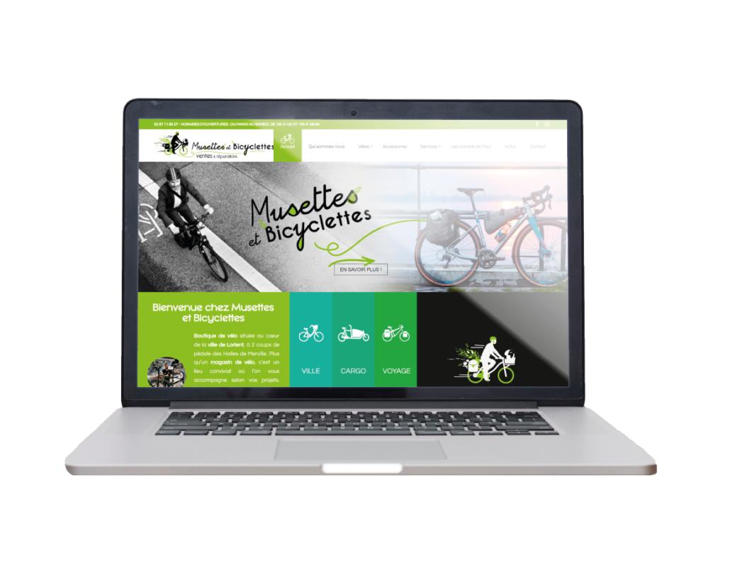 Site internet Musettes et Bicyclettes