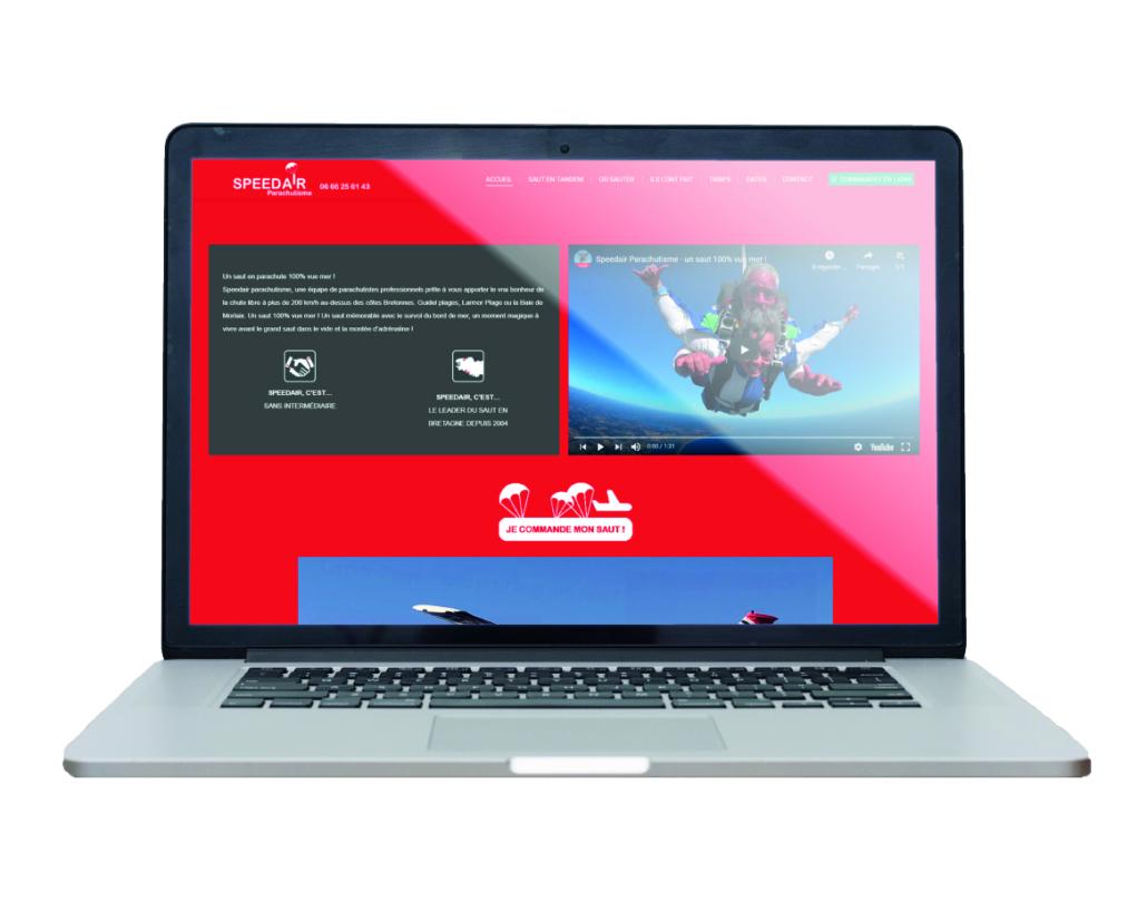 Site internet Speedair